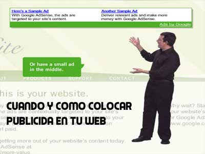 Ciuando colocar publicidad adsense en tu web