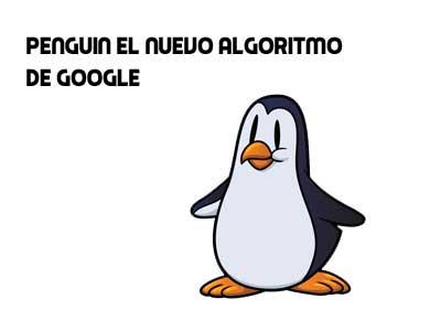 Google Penguin el nuevo algoritmo