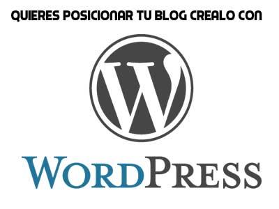 crea tu blog en wordpress para posicionarlo mejor
