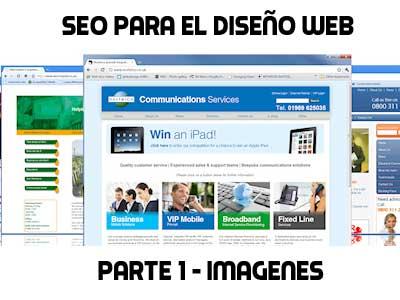 Seo para el diseño web parte 1, imagenes