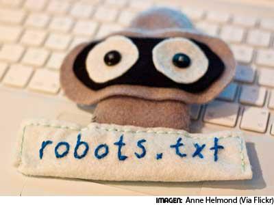 El robot para Google