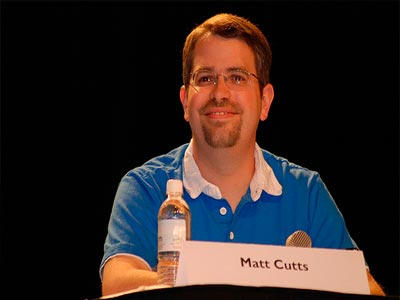 Matt Cutts en conferencia