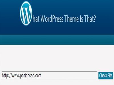 Averiguar el theme de un blog en Wordpress