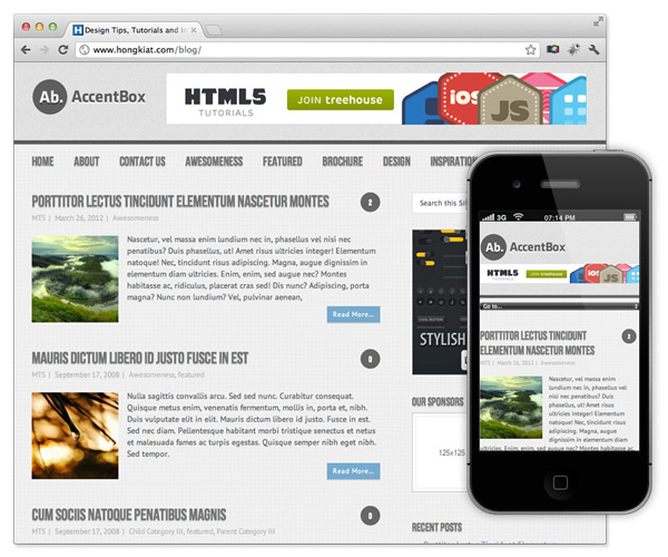 tema responsive wordpress gratis