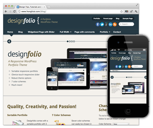 tema gratis para wordpress responsive