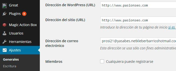 definir-url-wordpress