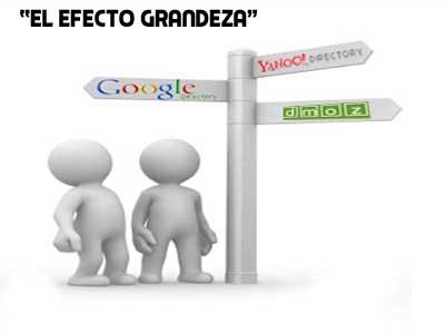 el efecto grandeza de una web