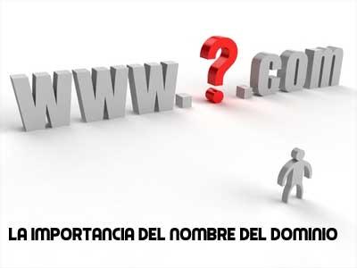 la verdadera importancia del nombre del domino web