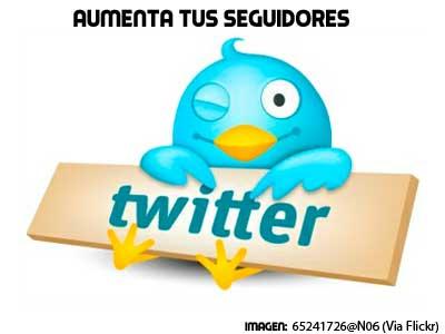 aumenta tus seguidores en twitter