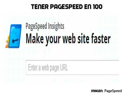 como tener pagespeed online en 100