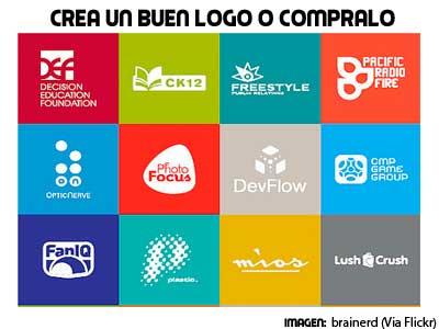dedica tiempo a crear logos