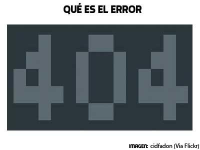 que es el error 404