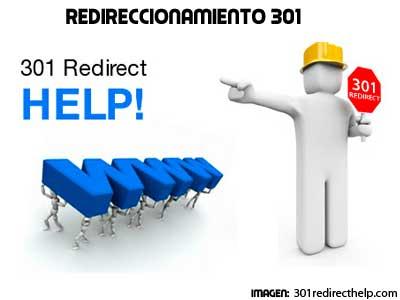 Qué es el redireccionamiento 301
