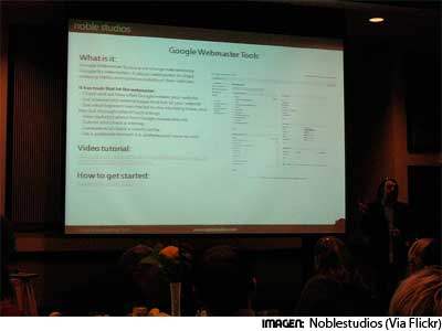 Conferencia Herramientas para Webmasters