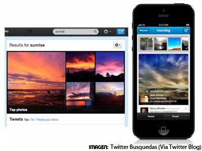 Twitter mejora sus búsquedas