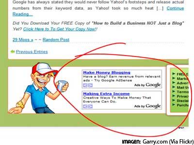 publicidad de Adsense en WordPress