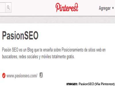 Pinterest mejora nuestro SEO