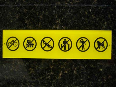 Campañas prohibidas en el SEM