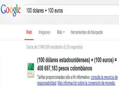 Respuestas naturales en Google