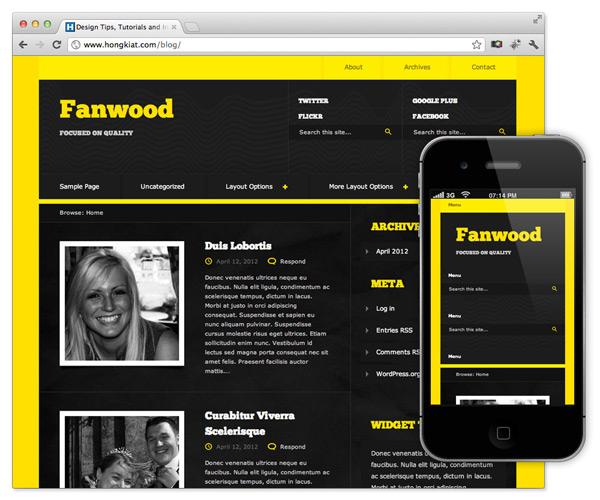 diseño web responsive para wordpress