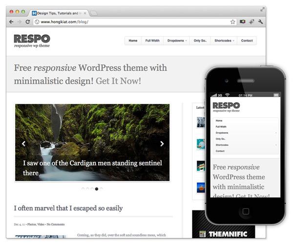 plantilla para wordpress gratis responsive