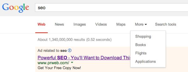 google filtro seo
