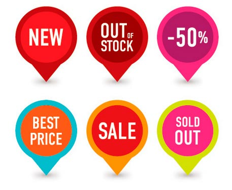 Badges para ventas