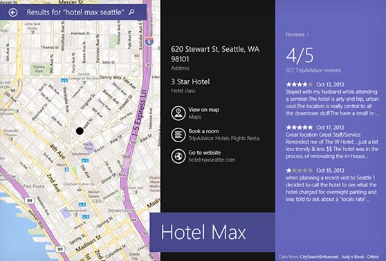 Foursquare se integra con Bing