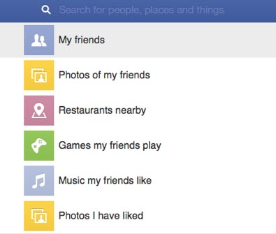 facebook graph search para movil