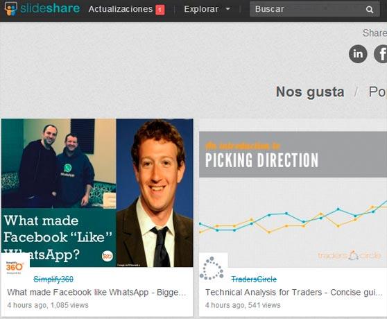 SlideShare para mejorar el SEO
