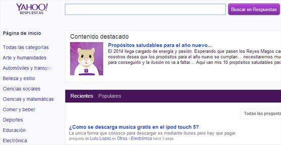 SEO con Yahoo Respuestas