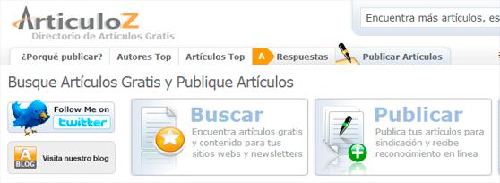 directorio de articulos