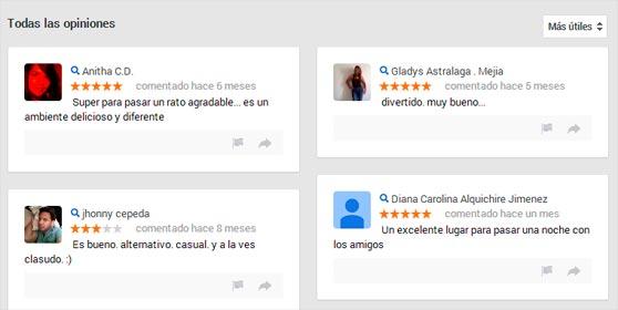 Opiniones Google Plus