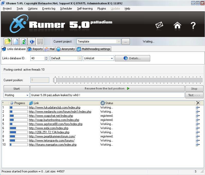 Xrumer Software de Black Hat