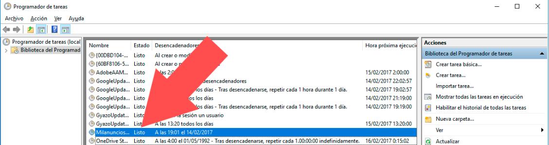 Tarea Windows Realizada